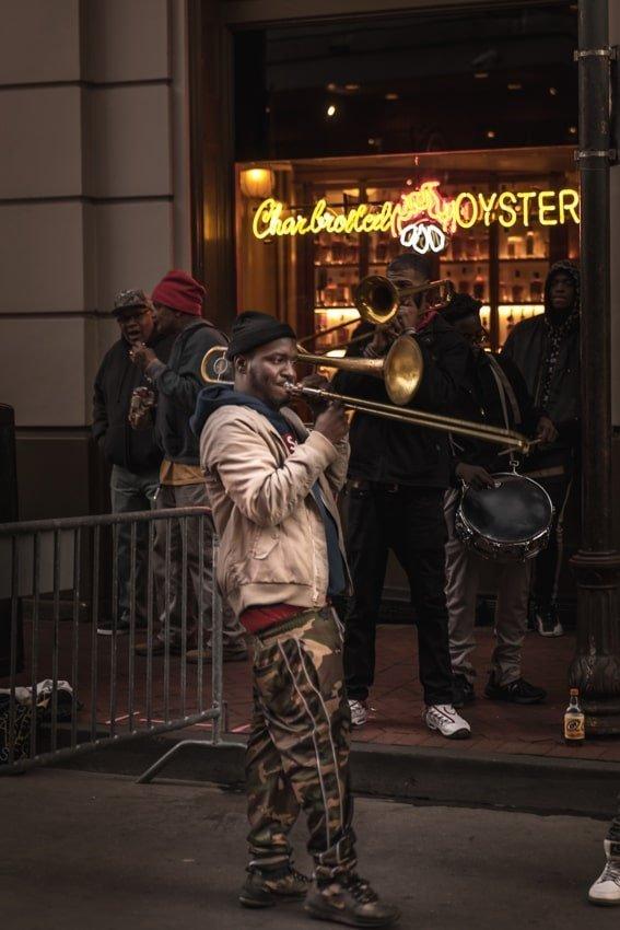 4b09c1c4f3c Trombone Player - Bourbon Street - French Quarter New Orleans - Sarah Kozak