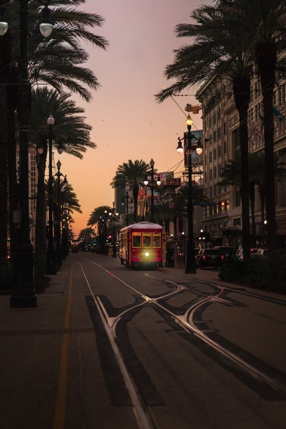 Street Car Canal Street New Orleans